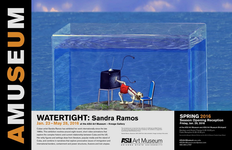 Watertight: Sandra Ramos. Arizona State University Museum, 2016
